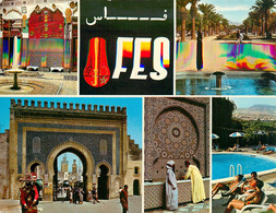 CPSM Fes-Multivues-Beau Timbre    L930 - Agadir