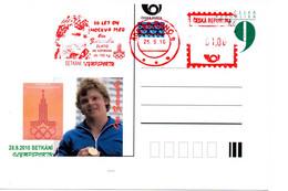 Czech Republic (10-24) Olympic Games 1980 Czech Gold Medal Zaremba Weight-lifting - Postcard - Estate 1980: Mosca