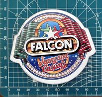 Falcon Jeans  ADESIVO STICKER VINTAGE NEW ORIGINAL - Stickers