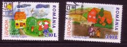 RUMÄNIEN MI-NR. 6065-6066 O EUROPA 2006 - INTEGRATION - 2006