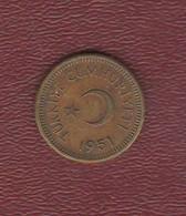 Turchia 5 Kurus 1951 Turkey Brass Coin - Turkey