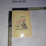 FB10462 REP. ITALIANA AREZZO 1974 TIMBRO ANNULLO GIOSTRA DEL SARACINO 74'' EDIZIONE PORTA SAN ANDREA - 1971-80: Storia Postale