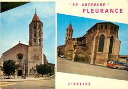CPSM Fleurance-Multivues-Timbre  L934 - Autres Communes