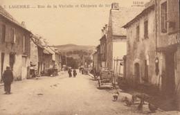 12 :  Laguiole : Rue De La Violette Et Chapeau De Fer   ///  Ref.   Sept.  21 /// N° 17.007 - Laguiole