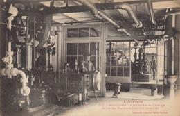 12 :  Roquefort : Salle Des Machines , Industrie Du Fromage  (traces Au Dos)  ///  Ref.   Sept.  21 /// N° 17.008 - Roquefort