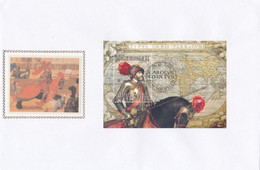 Enveloppe FDC Soie 2889 Bloc 85 Charles Quint Mechelen - 1991-00
