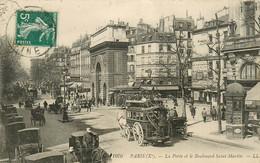 75* PARIS (10)   Porte Et Bd St Martin       RL15,0094 - Distretto: 10