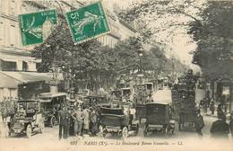 75* PARIS (10)    Le Bd Bonne Nouvelle     RL15,0110 - Distretto: 10
