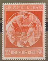 Deutsches Reich 1940, Mi 744 MNH(postfrisch) - Nuovi