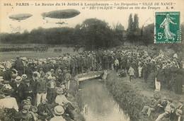 75* PARIS (16)  Revue Du 14 Juillet A Longchamp – Dirigeables «ville De Nancy Et Republique»         RL15,0813 - Distretto: 16