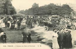 75* PARIS (16)  Av Du  Bois De Boulogne        RL15,0834 - Distretto: 16