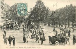 75* PARIS (17)    Av De La Grande Armee       RL15,0928 - Distretto: 17
