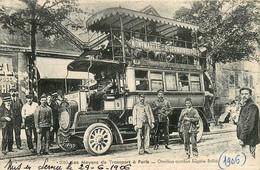 75* PARIS (18)  Omnibus Autobus  «eugene Brille»         RL15,1028 - Distretto: 18