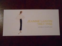 FRANCE BLOC SOUVENIR 138 JEANNE LANVIN** - Souvenir Blokken