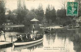 75* PARIS (19)  Buttes Chaumont -bateaux Passeurs           RL15,1339 - Distretto: 19