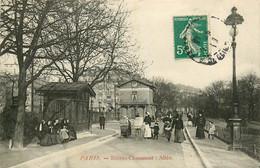 75* PARIS (19)  Buttes Chaumont – Allee          RL15,1364 - Distretto: 19