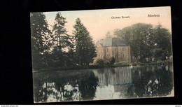 1225-MONTZEN-chateau BROUCK Couleur- Etang - Plombières