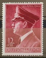 Deutsches Reich 1942, Mi 813 MNH(postfrisch) - Nuovi