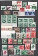 Deutsches Reich - Drittes Reich , Lot Mit Postfrischen Marken , Hoher Katalogwert - Nuovi