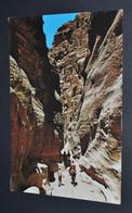 Petra - The Sik, Petra Main Entrance - Jordan