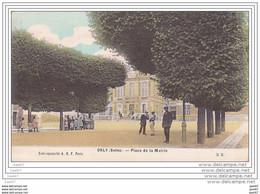 Cpa  Réf-JP-T538 (  Dép-94 à ORLY  ) Aujourd'hui Du Monde Sur La Place De La MAIRIE - Orly