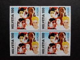 SCHWEIZ MI-NR. 1965 POSTFRISCH(MINT) 4er BLOCK EUROPA 2006 INTEGRATION - 2006