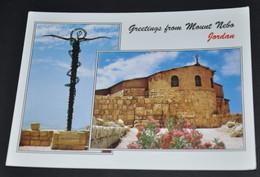 Greetings From Mount Nebo - Jordan