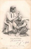 Algérie Barbier Maure Et Mozabite Cpa - Berufe