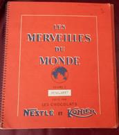 ALBUM IMAGES NESTLE KOHLER LES MERVEILLES DU MONDE NUMERO 3 COMPLET 1956 - Nestlé