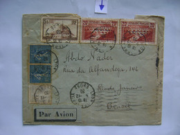 FRANCE - LETTER SENT FROM LYON TO RIO DE JANEIRO (BRAZIL) IN 1930 IN THE STATE - Cartas