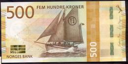 Norway 500 Kroner 2018 UNC P- 56 - Norway