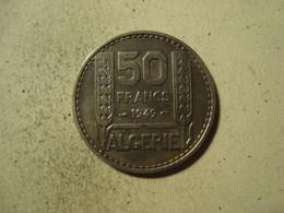 MONNAIE ALGERIE 50 FRANCS TURIN 1949 - Algeria