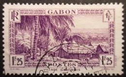 GABON N°140A Oblitéré - Gebruikt