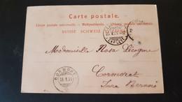 Lausanne - Sent To Cormoret Jura Bernois - Non Classificati