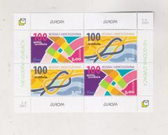 BOSNIA AND HERZEGOVINA 2007  CROATIAN POST EUROPA CEPT S/S  MNH - Bosnia And Herzegovina