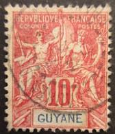 GUYANE FRANCAISE N°44 Oblitéré - Gebraucht