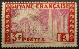 GUYANE FRANCAISE N°129 Oblitéré - Gebraucht