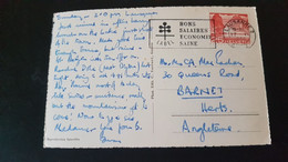 Lausanne - Sent To Barnet England - Used Stamps