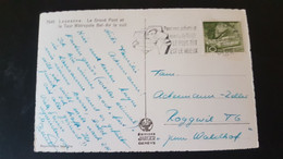 Lausanne - Sent To Roggwil - Used Stamps