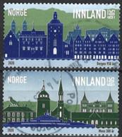 Norwegen Norway 2020. Mi.Nr. 2015-2016, Used O - Usados