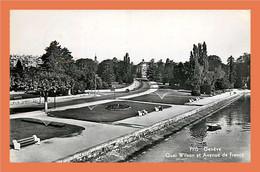 A441 / 329 GENEVE Quai Wilson Et Avenue De France ( Timbre ) - Unclassified