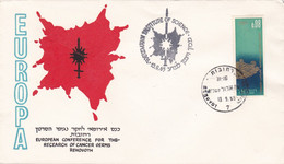 EUROPEAN CONFERENCE FOR THE RESEARCH OF CANCER GERMS REHOBOTH. ISRAEL SPC 13.9.1965.- LILHU - Disease