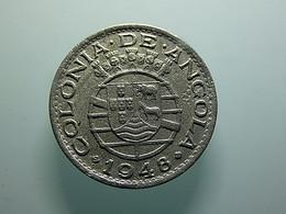 Portuguese Angola 50 Centavos 1948 - Portugal