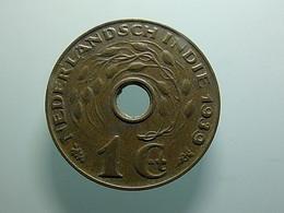 Netherlands East Indies 1 Cent 1939 - Indes Néerlandaises