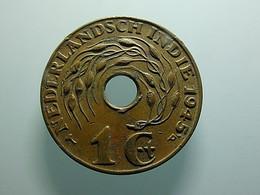 Netherlands East Indies 1 Cent 1945 P - Indes Néerlandaises