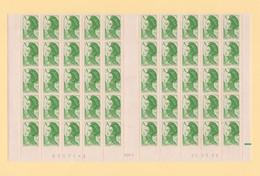 Liberte De Gandon - A -n°2423  Bloc De 50 Bas De Feuille Coin Date 26-5-1986 - 1982-90 Liberté De Gandon