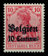 BES 1WK LP BELGIEN Nr 3 Ungebraucht X7797A6 - Ocupación 1914 – 18