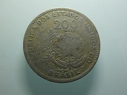 Brazil 200 Reis 1901 - Brazil