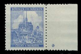 BÖHMEN MÄHREN 1941 Nr 71bPlSt1R Postfrisch X828596 - Nuovi