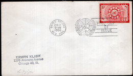 United Nations - 1956 - Lettre - FDC - A1RR2 - Briefe U. Dokumente